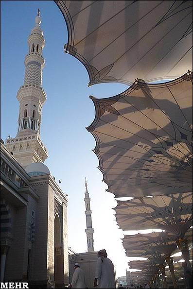 گل دسته مسجد النبی