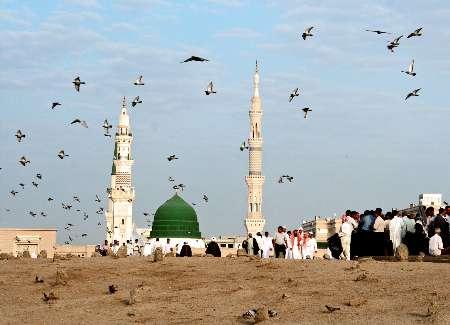 مسجد النبی - بقیع