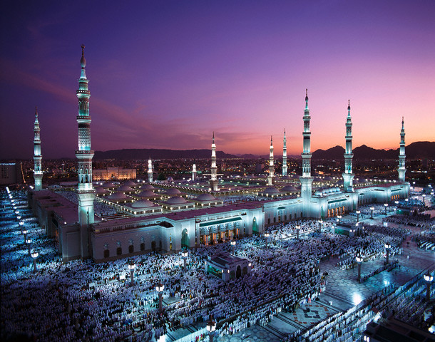 مسجدالنبی-پیامبر اسلام ص