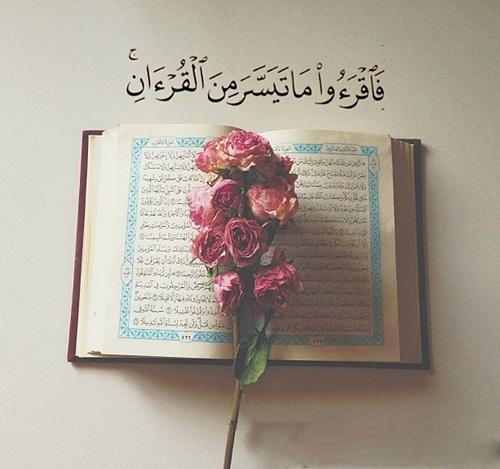 قرائت قرآن:صیقل دهنده دل+شفای بیماری+نور چشم+درجات اعلا......