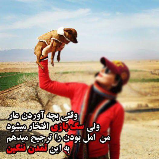 سگ بازان متمدن