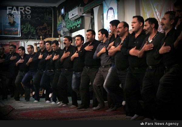 Ashura mourning in Mazandaran, Iran