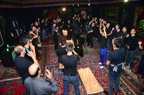 Ashura mourning in Romania